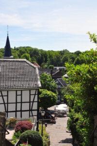 Weg zum Marktplatz in Solingen-Gräfrath
