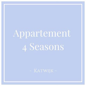 Appartement 4 Seasons in Katwijk aan Zee, Charming Family Escapes