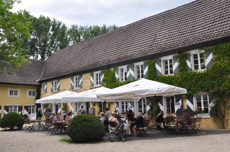 Café Burgstube, Wasserschloss Haus Graven