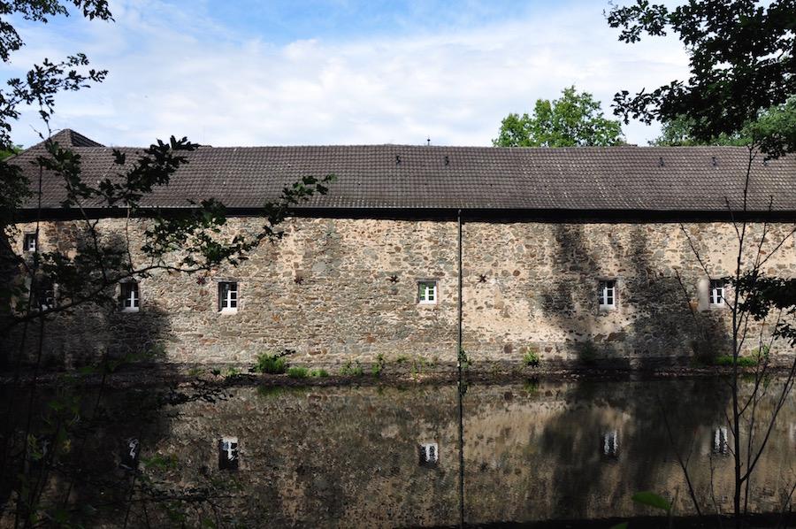Wasserburg Haus Graven Seitenansicht