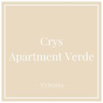 Crys: Apartment Verde, Verona, on Charming Family Escapes