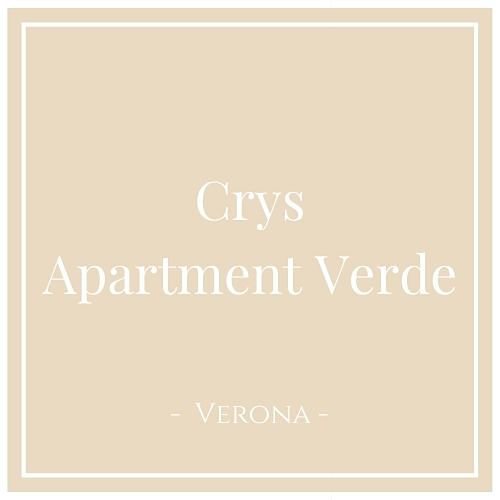 Crys: Apartment Verde, Verona, auf Charming Family Escapes