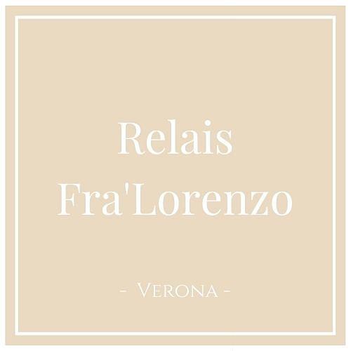 Relais Fra'Lorenzo, Verona, auf Charming Family Escapes