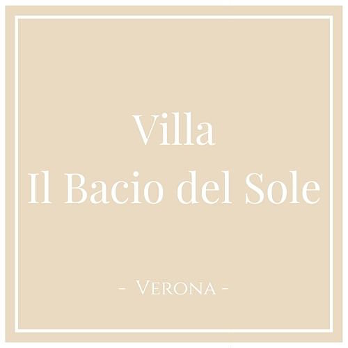Villa Il Bacio del Sole, Verona, auf Charming Family Escapes