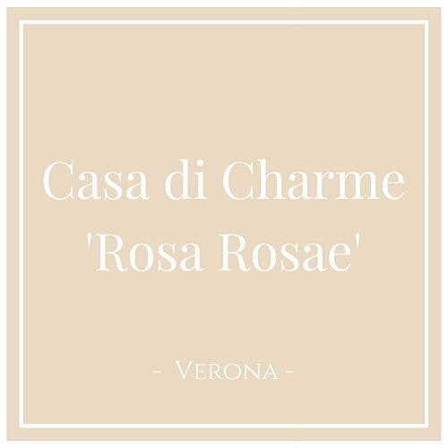 Casa di Charme 'Rosa Rosae'