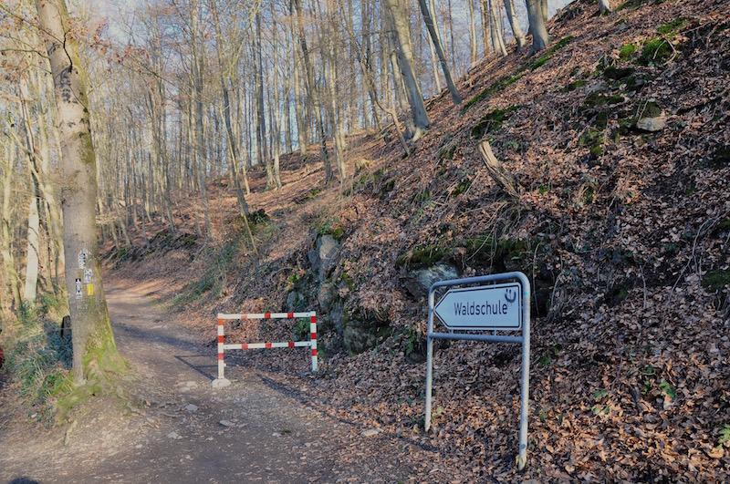 Wanderweg zur Waldschule, Solingen
