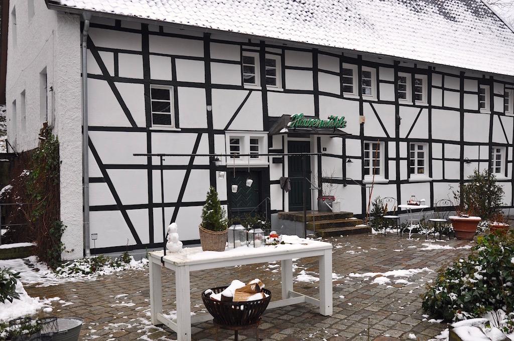 Haasenmühle in Solingen mit Eingangsbereich