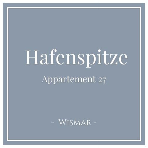Hafenspitze Appartement 27, Wismar, Charming Family Escapes