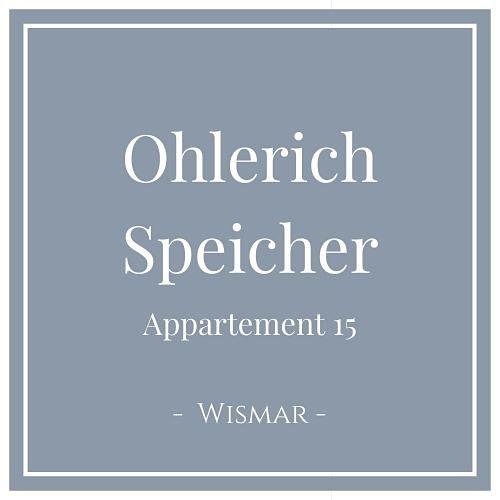 Ohlerich Speicher Appartement 15, Wismar, Charming Family Escapes