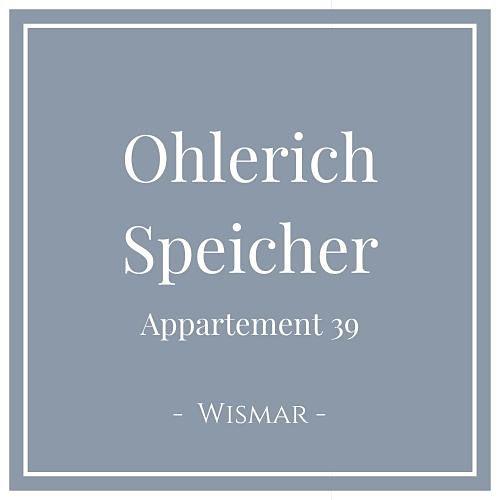 Ohlerich Speicher Appartement 39, Wismar, Charming Family Escapes