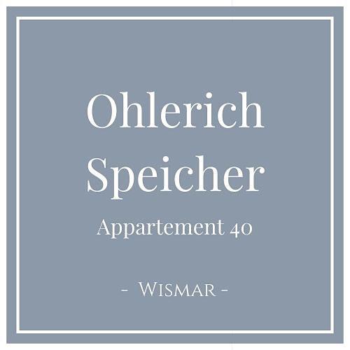 Ohlerich Speicher Appartement 40, Wismar, Charming Family Escapes