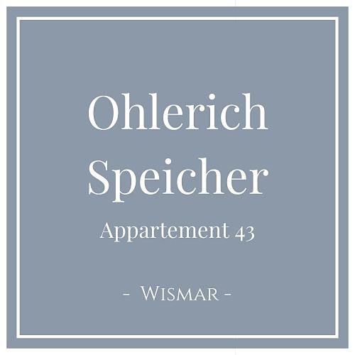 Ohlerich Speicher Appartement 43, Wismar, Charming Family Escapes