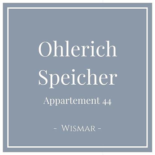 Ohlerich Speicher Appartement 44, Wismar, Charming Family Escapes