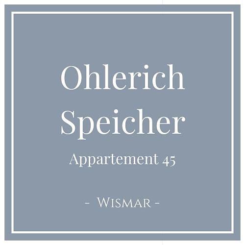 Ohlerich Speicher Appartement 45, Wismar, Charming Family Escapes