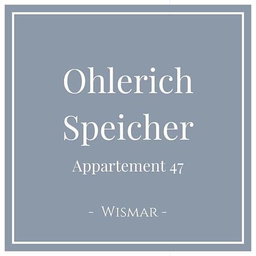 Ohlerich Speicher Appartement 47, Wismar, Charming Family Escapes