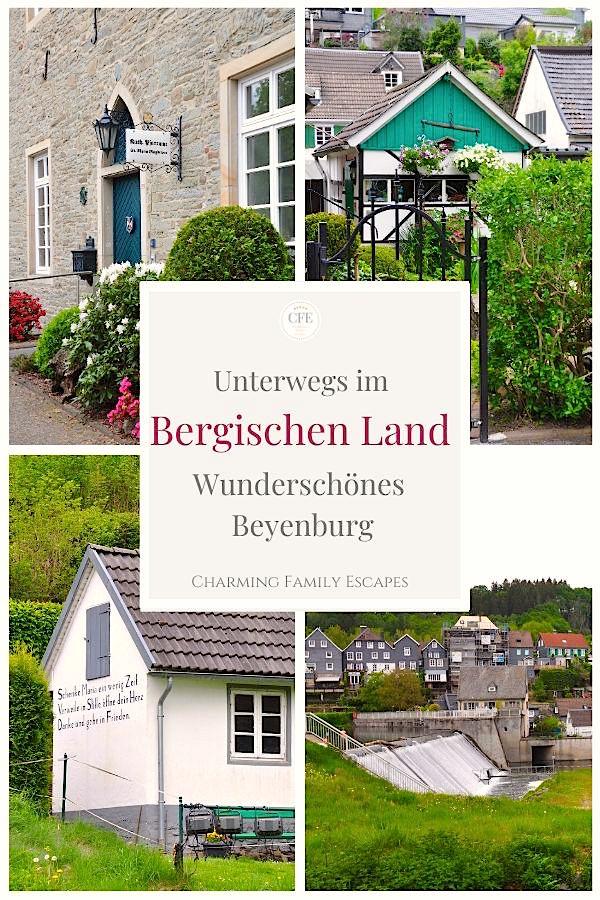 Unterwegs im Bergischen Land - wunderschönes Beyenburg