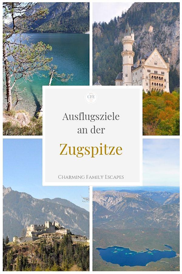 Ausflugsziele an der Zugspitze auf Charming Family Escapes