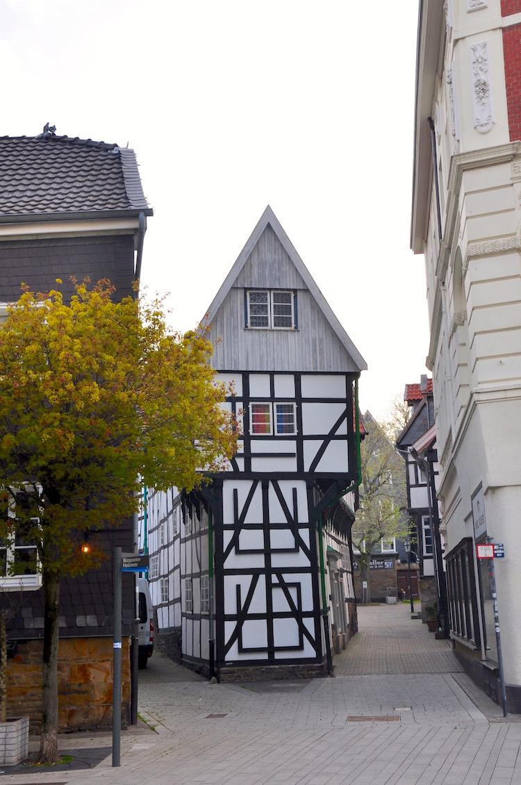 Das Bügeleisenhaus in Hattingen