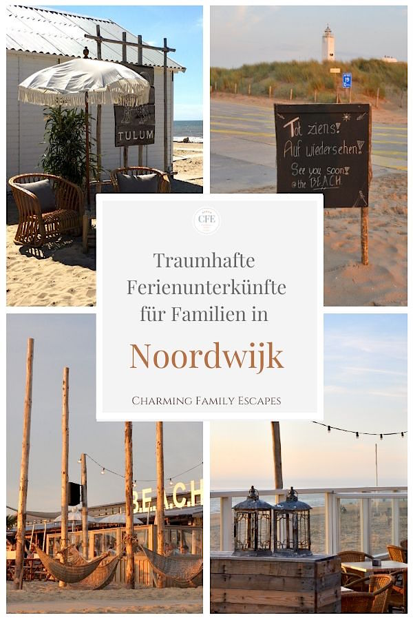 Urlaub mit Kindern in Noordwijk - traumhafte Ferienunterkünfte