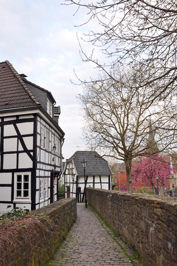 Weg zum Zollhaus in Hattingen