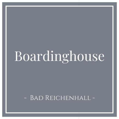 Boardinghouse, Bad Reichenhall