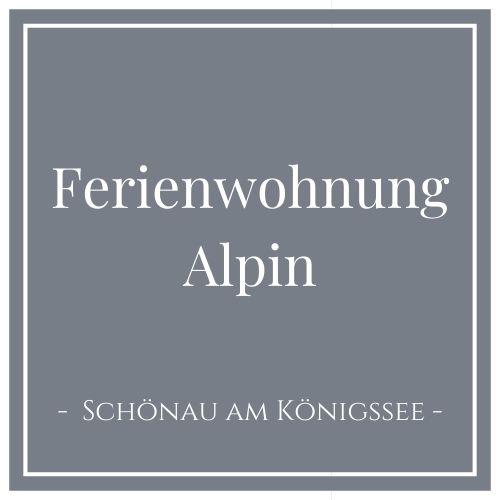 Ferienwohnung Alpin, Schönau am Königssee