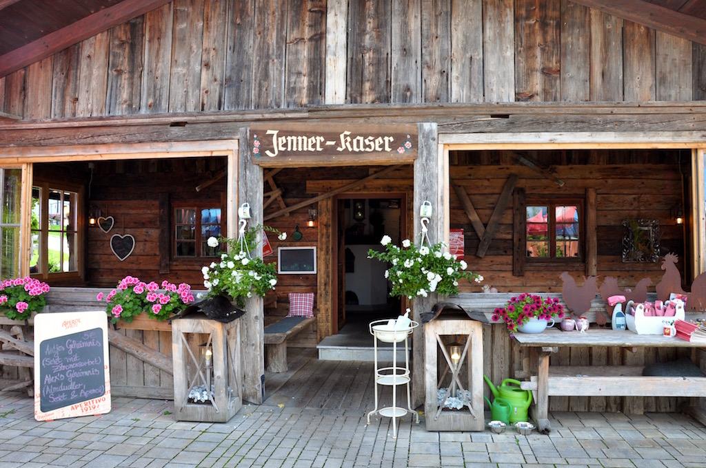 Jenner-Kaser am Königssee